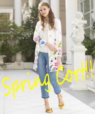 Spring Cort入荷しています♪