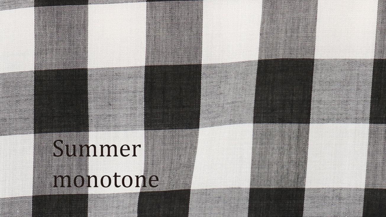 Summer monotone