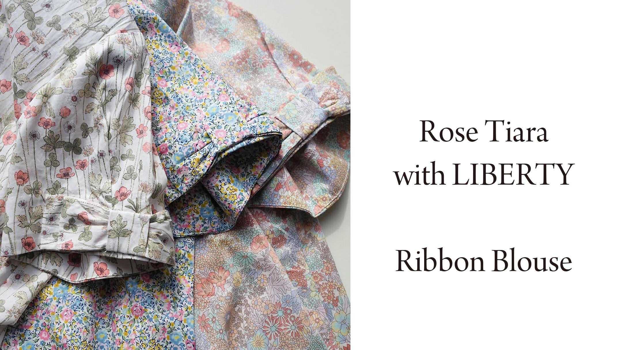 【新作】Rose Tiara with LIBERTYブラウス 2