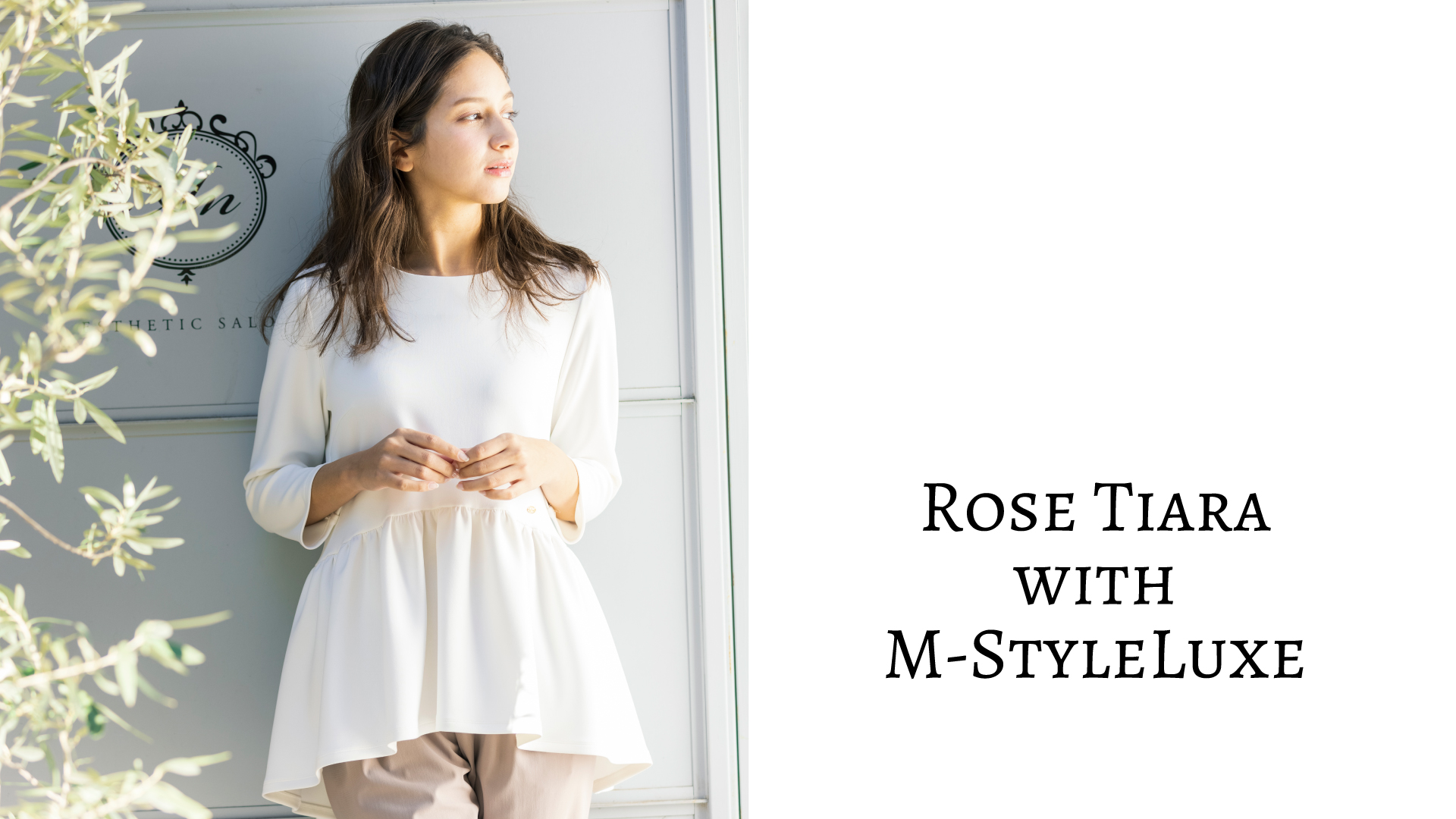 Rose Tiara with M-styleLuxe 01